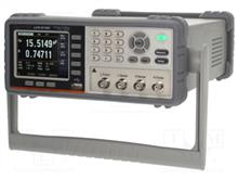 PONT DE MESURE RLC DE TABLE 10 Hz à 100 kHz_ GW INSTEK LCR6100